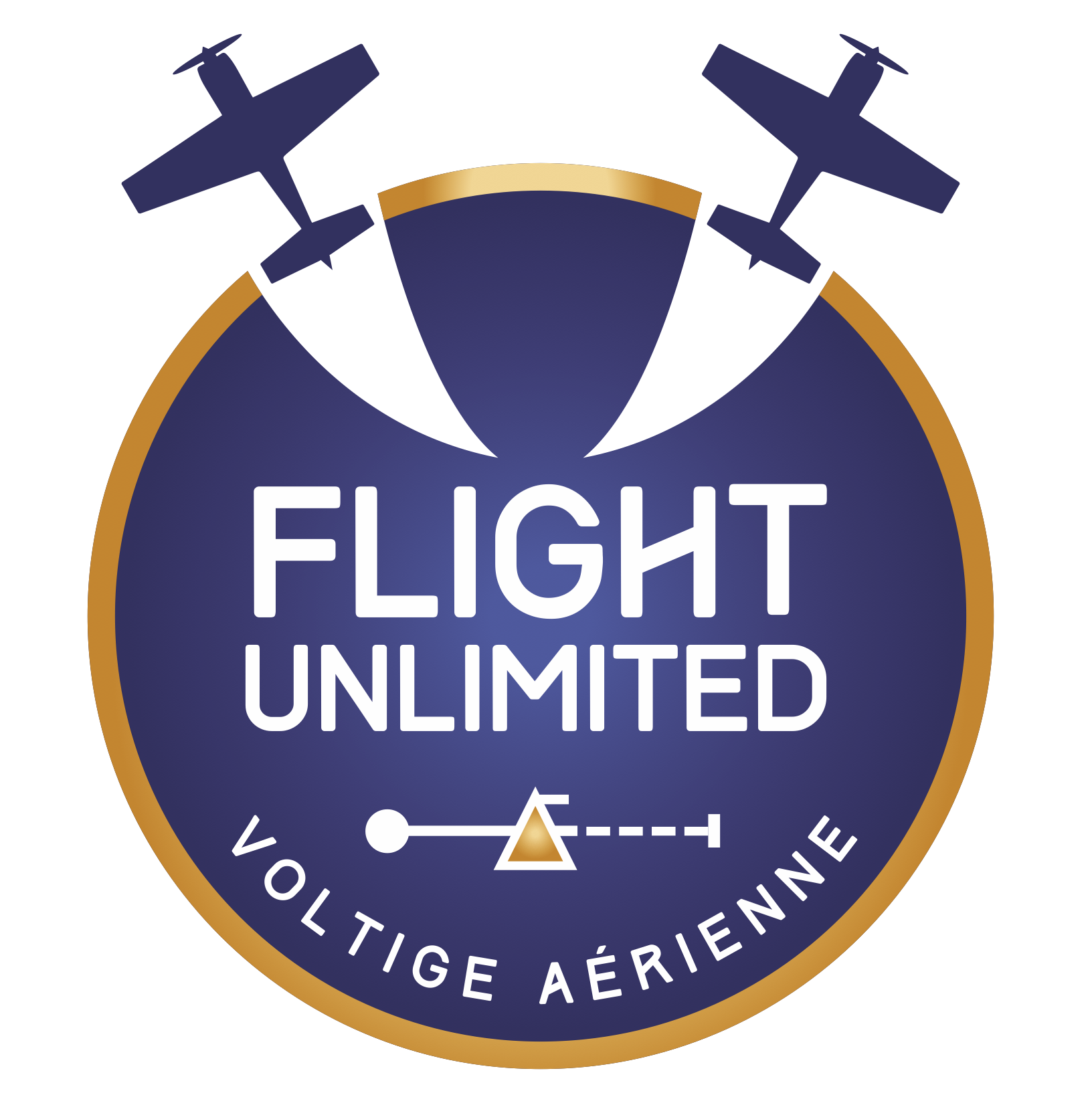 "Logo ""patch"" Flight-Unlimited"